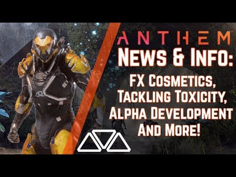 Anthem  & Info: The Forge, Photo Mode & Why EA's Involvement Doesn't Bother Me!