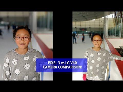 Pixel 3 vs LG V40 Camera Comparison!