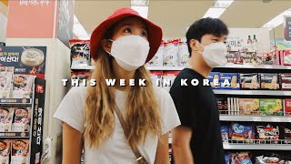 THIS WEEK IN KOREA • Lockdown Level 2.5, Grocery Shopping, & Staying Home!