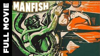 Manfish (1956)    English Adventure Movie   John Bromfield, Lon Chaney, Jr