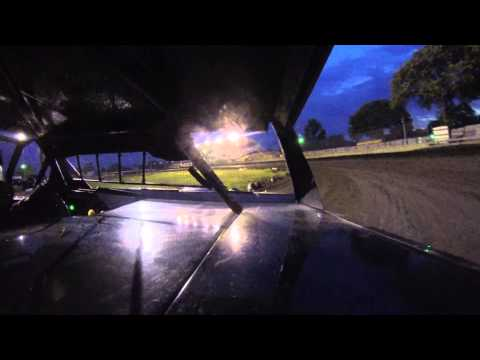 Kevin Stoa at Algona Raceway 7-13-13
