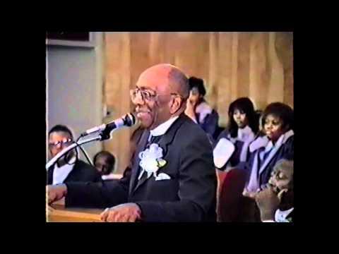 Bishop WE Fuller, Jr Convention Remarks