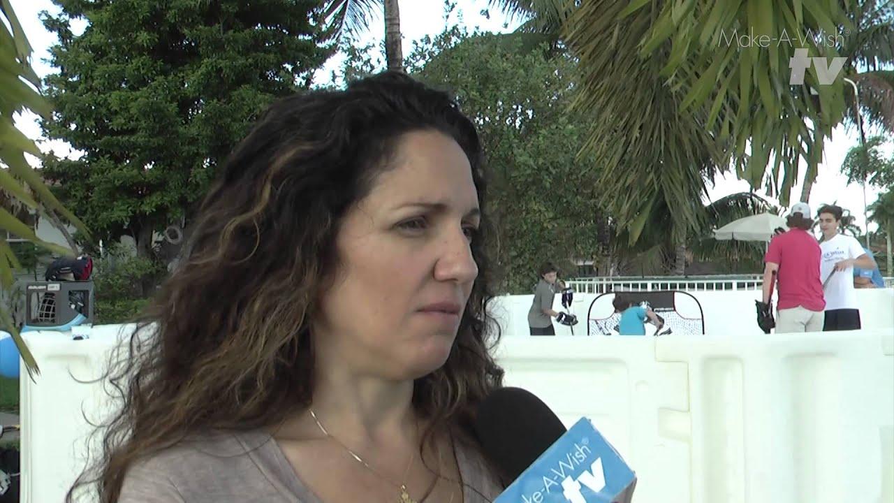 cj u0027s wish to have a backyard synthetic ice rink u2013 make a wish