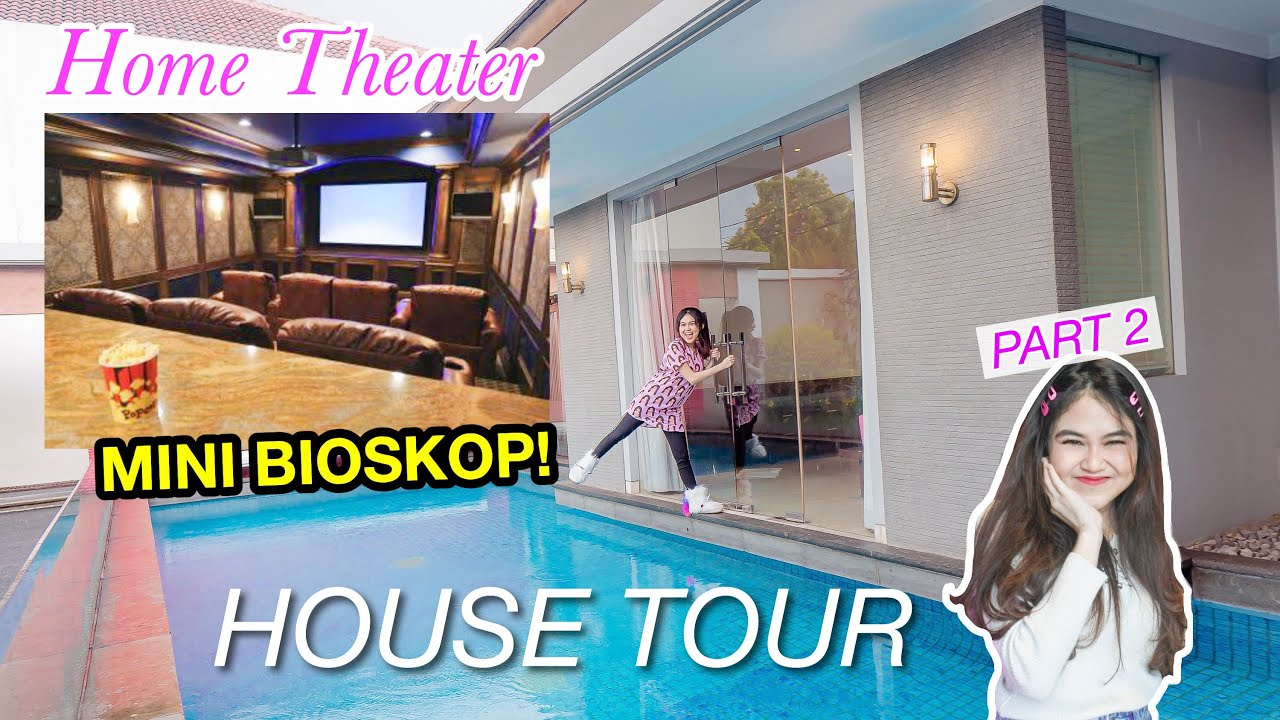 HOME THEATER DIRUMAH BARUKU! HOUSE TOUR (Part 2)