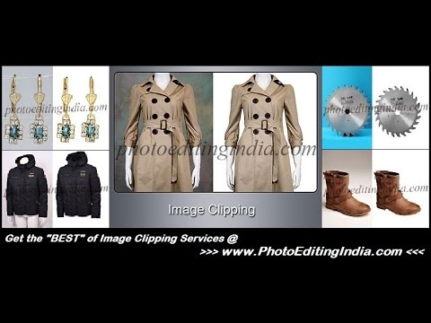 IMAGE CLIPPING SERVICES - PHOTO EDITING INDIA
