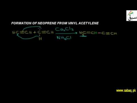 Formation Of Neoprene From Vinyl Acetylene, Chemistry Lecture | Sabaq.pk |