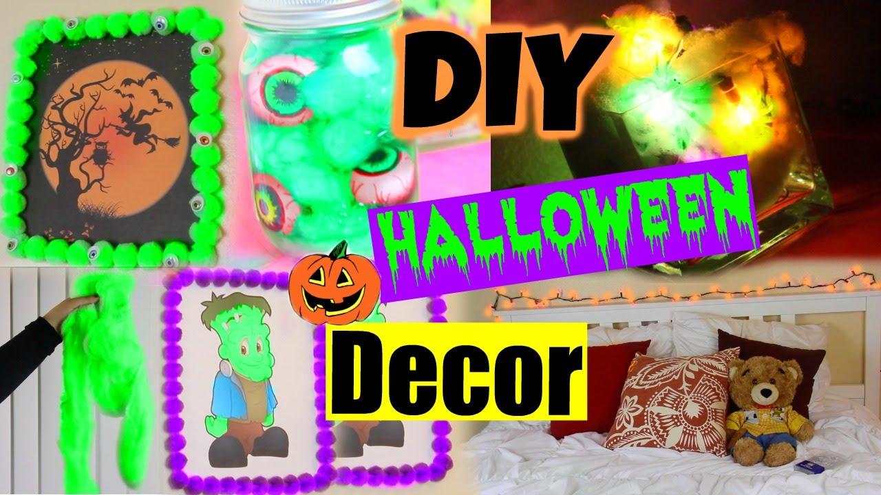 DIY Halloween Room Decor! Make Your Room Spooky For Halloween!   YouTube