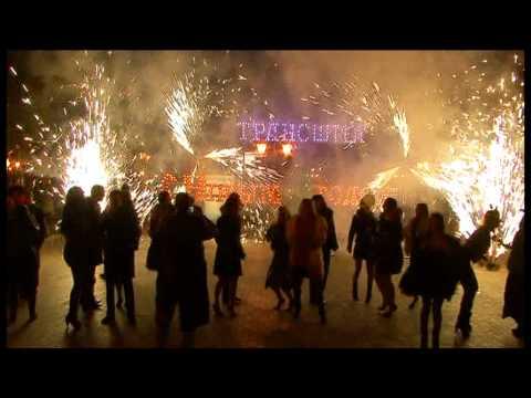 Горящие надписи  С новым годом  Horosho Event Group