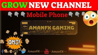 Free Youtube Channel Art Template - Audience Request #1 - AmanFX Production
