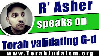 Torah validating G-d