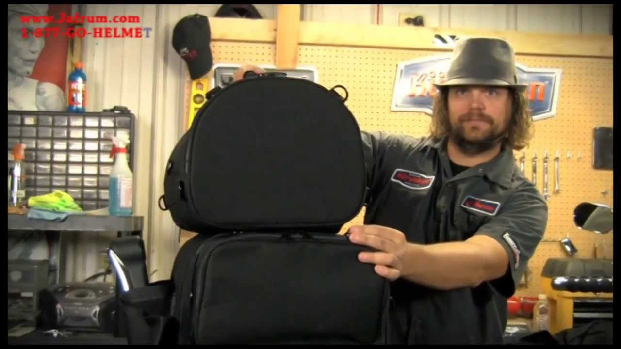 Kuryakyn ultra tour bag by bagtec features overview youtube - Ultra tour vitre ...