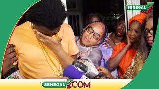 Surprise de Baba Amdi chez Thione Seck: Wally Seck fond en larme devant sa mère