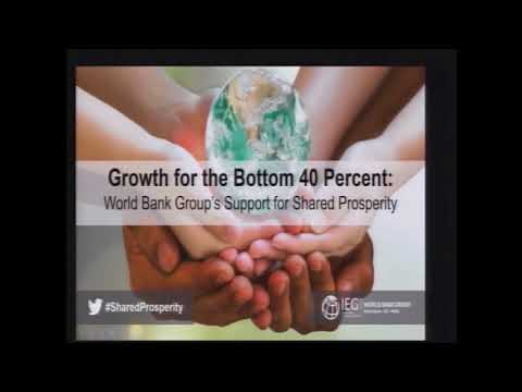 Growth for the Bottom 40 Percent: The World Bank Group's Support for Shared Prosperity