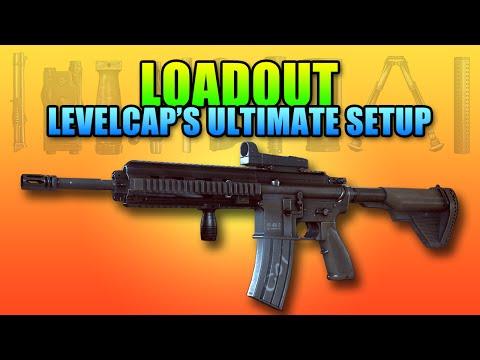 Loadout - LevelCap's Ultimate Setup M416   Battlefield 4 Assault Rifle Gameplay