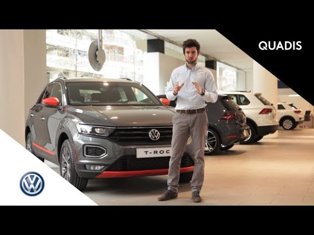 Volkswagen T-ROC | Prueba / Test / video en español | quadis.es