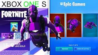 "Le nouveau bundle ""XBOX ONE S"" à Fortnite!.. (Purple Vertex Skin!)"