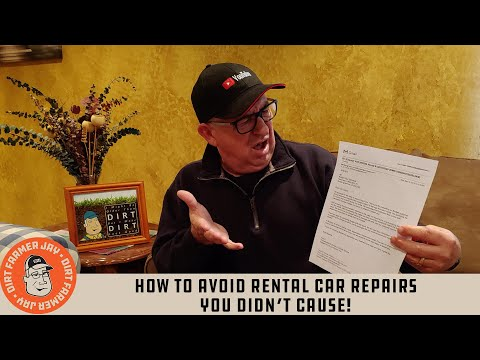 How to Avoid Rental Car Repairs You Didn't Cause!
