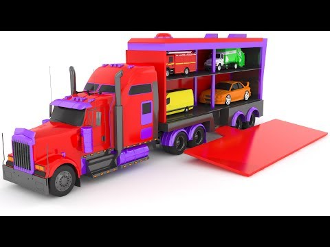 Thumbnail: Learn Colors With Cars Colors for Children Street Vehicles & Cars Colours for Kids to Learn #32