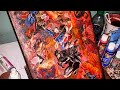 Turning a Comic Book into Canvas Art |DC Universe Rebirth Annual