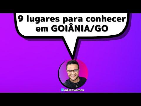 O QUE FAZER EM GOIÂNIA: 09 DICAS INCRÍVEIS (vídeo 01) | via Eldo Gomes TV