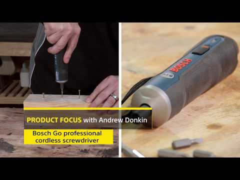 Bosch GO 3.6 Cordless Screwdriver Review