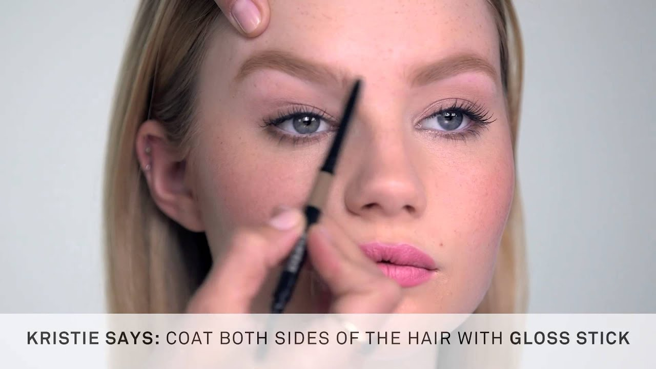 How To Use Smashbox Brow Tech Gloss Stick For Natural Looking Glossy