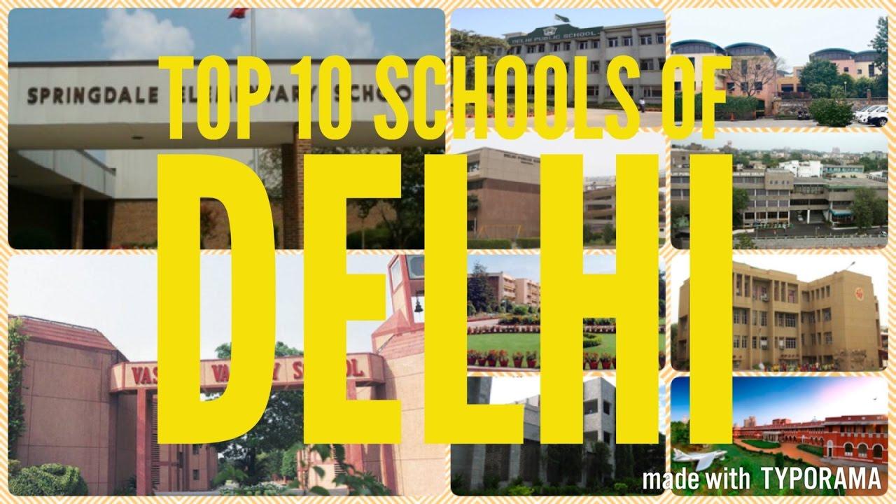Top 10 Schools in Delhi - Best Schools of Delhi