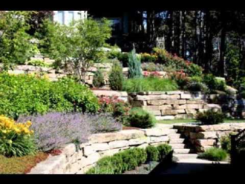 Hillside Landscaping Design Ideas YouTube