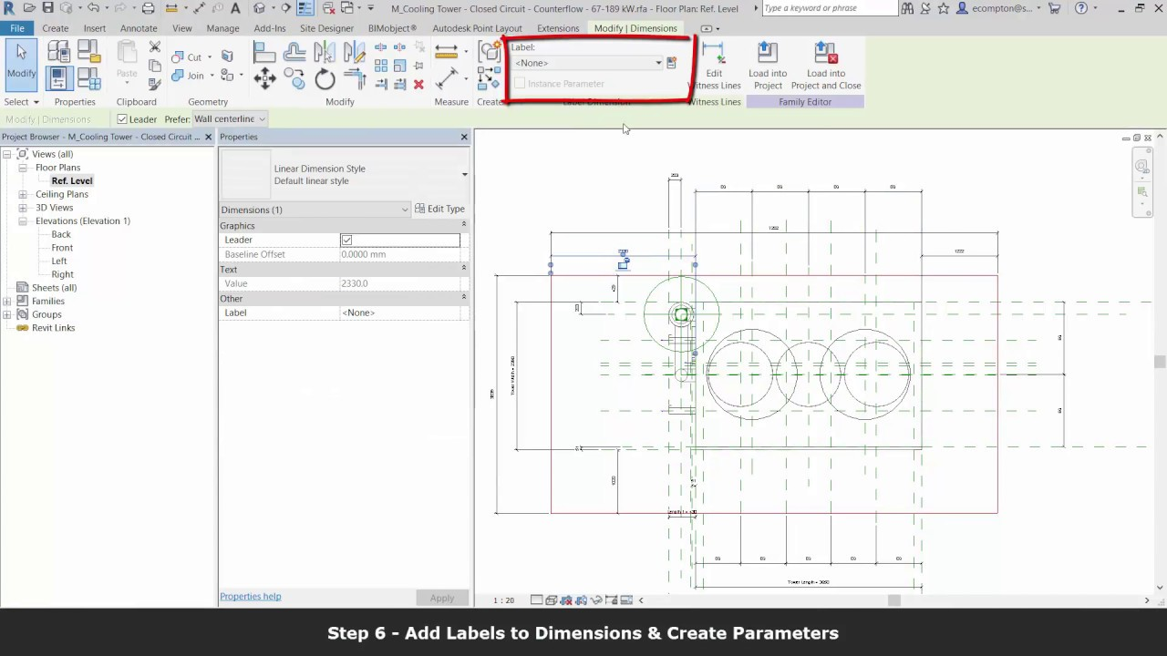Add Transparent Clearance Zones to Revit Families