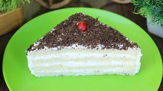 মাএ ৫ মিনিটে ৪ টি উপকরন দিয়ে তৈরি পেষ্টি কেক রেসিপি/পেষ্টি কেক/কেক রেসিপি/5 Minutes Pastry Cake.