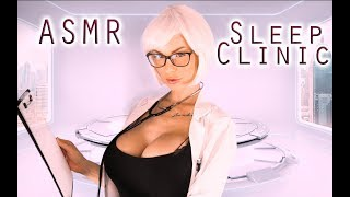 ASMR Hypnotic Sleep Clinic Doctor Role Play -Trigger to fall Asleep layered Sounds deutsch/german