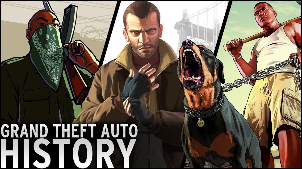 History of - Grand Theft Auto (1997-2015) - YouTube