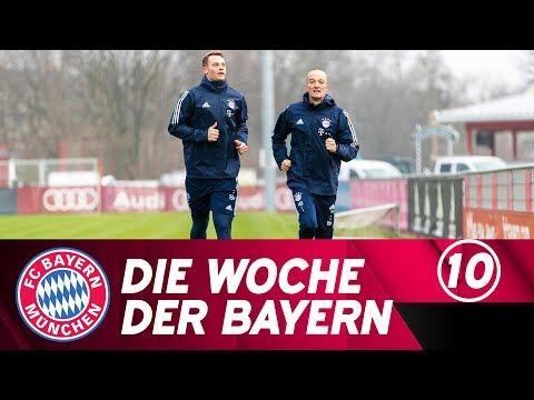 Die Woche der Bayern: Neuer zurück im Training & Robben vor dem Comeback   Ausgabe 10