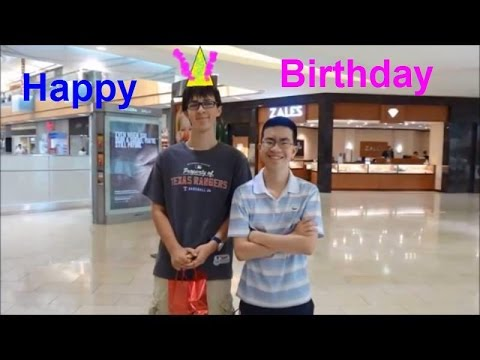 A Happy Birthday compilation video with elevatordude3308! August 2014 - Dallas Galleria - Dallas, TX