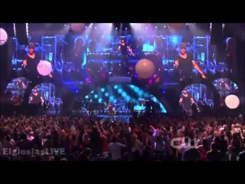Enrique Iglesias - Finally Found You & I Like It feat. Pitbull @ iHeartRadio 2012