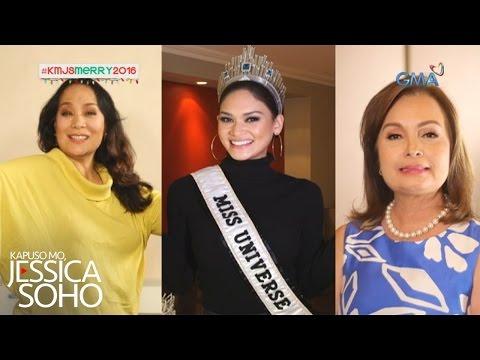 Kapuso Mo, Jessica Soho: Ikatlong Miss Universe ng Pilipinas