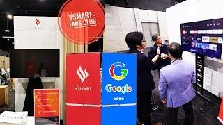 Vinsmart Hợp Tác Google, TV Thông Minh Vsmart Sẽ Đến Tay Người Dùng Vào Tháng 12