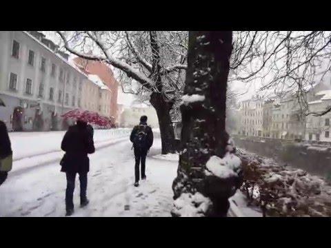 Ljubljana snow, Wed 6 Feb 2013