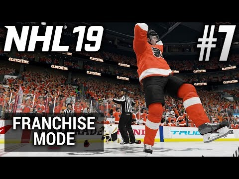 NHL 19 Franchise Mode | Philadelphia Flyers | EP7 | BEATING UP THE BIG BAD BRUINS (S1) (R1G1)