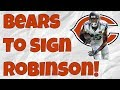 Bears Sign Allen Robinson! How much will it help Mitchell Trubisky?