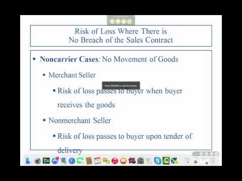 Business Law II - Professor Sharma (Lecture 1, Chapter 19 - 01.31.2015)