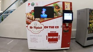 Popiah Vending Machine