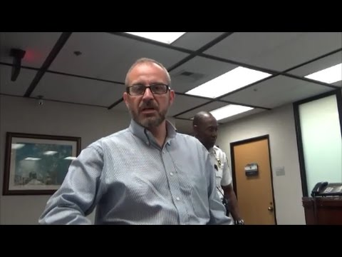 Anaheim City Attorney Refuses To Answer Questions And Calls Security
