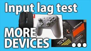 More input lag tests: Switch Pro, DS4 v1, ... - Rocket Science #21