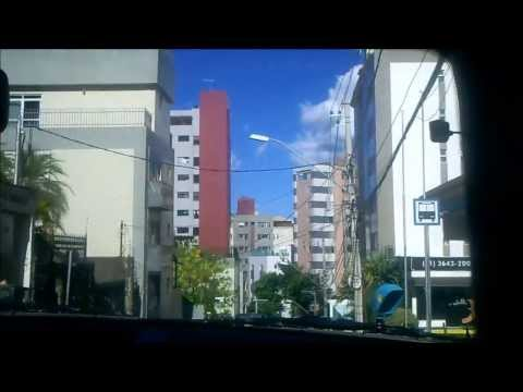 Driving in Belo Horizonte (Brazil): From Sta. Efigênia to Anchieta
