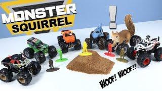 Monster Jam Trucks and Monster Dirt Starter Set 2019 Spin Master Toys