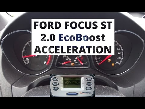 ford focus st 2 0 ecoboost 250 hp acceleration 0 100 km h youtube. Black Bedroom Furniture Sets. Home Design Ideas