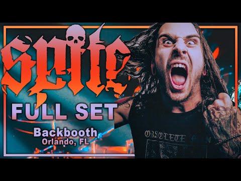 SPITE - Full Set (4K) LIVE @ Backbooth Orlando, FL