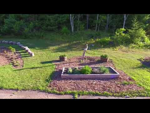 The North Falmouth Elementary School's Gardens - Drone Footage