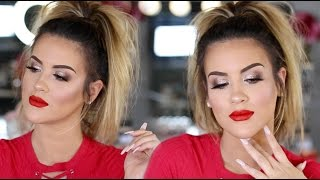 Makeup Look | Lady In Red -- Nicole Guerriero